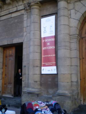 El Vernissage del Encuentro de Arte y Ciencia en el Cabildo de Montevideo